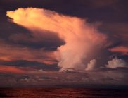 Cloud formations over the Pacific Ocean (Image: Richard Arculus)