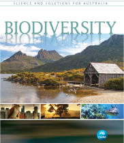 Front cover of the book 'Biodiversity: Science and Solutions for Australia' by CSIRO