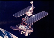 Landsat in orbit