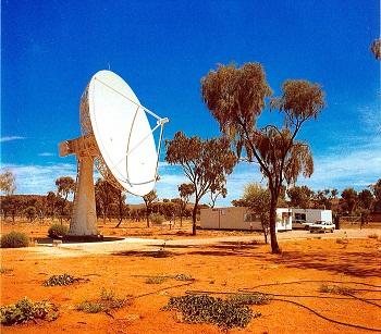 Australian Landsat station at Alice springs