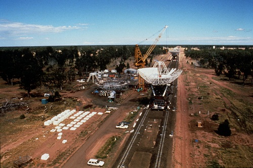 Construction of the Australia Telescope Compact Array