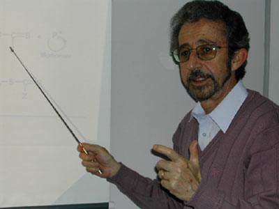 Ezio Rizzardo teaching the RAFT mechanism