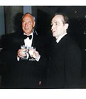 Don Metcalfe and José Carreras