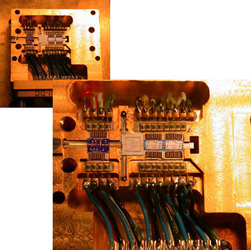 Integrated circuit based receiver module