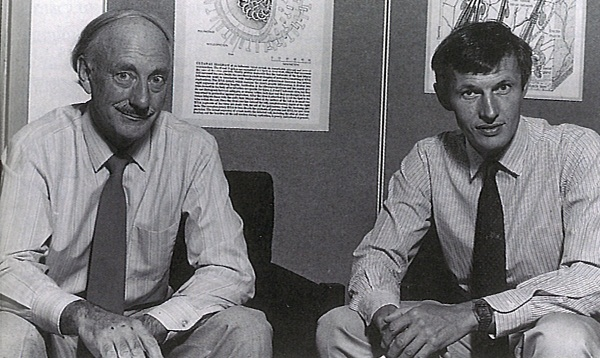 Bruce Fraser and Colin Ward in 1985