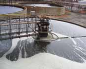 A thickener at WMC Resources' operation in Western Australia