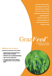 Cover of GrazFeed brochure