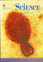The cover of the 7 April 1995 issue of the international journal _Science_