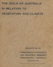The cover of the second edition of Prescott's paper published as CSIRO Bulletin No. 52