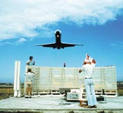 Interscan landing system