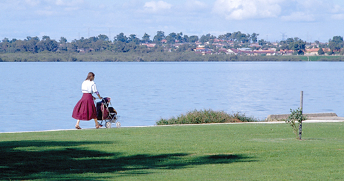 View of the Swan River