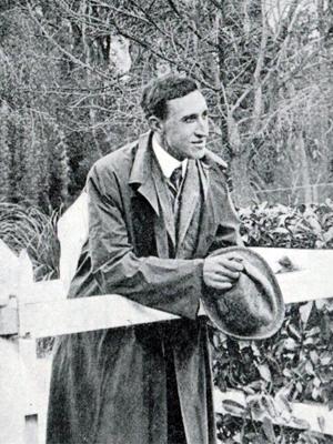 Professor Thorburn Brailsford Robertson at University of Adelaide