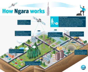 Infographic showing how Ngara works.