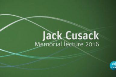 Jack Cusack Memorial lecture slide