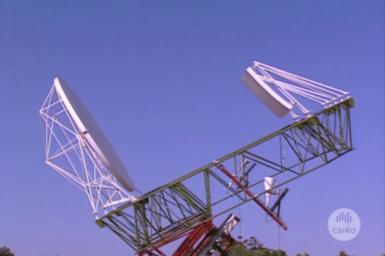 Multibeam Antenna test rig.