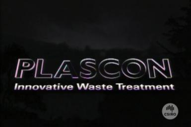 Plascon - Innovative Waste Treatment title screen.