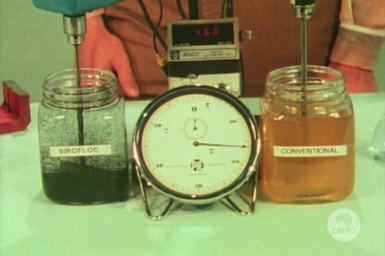 Laboratory demonstration of Sirofloc compared to conventional water treatment.
