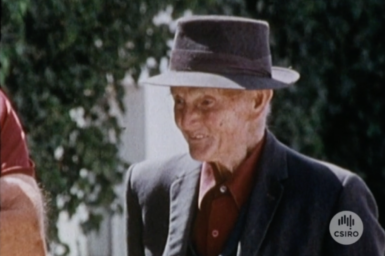 South Australian farmer, Bob Dawson.