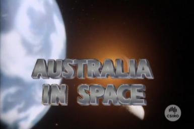 Australia in Space title