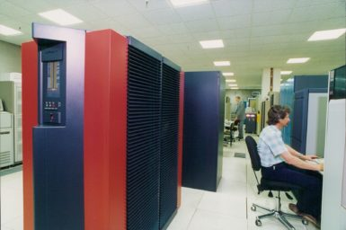 The CSIRO Cray Y-MP4/64 at the University of Melbourne