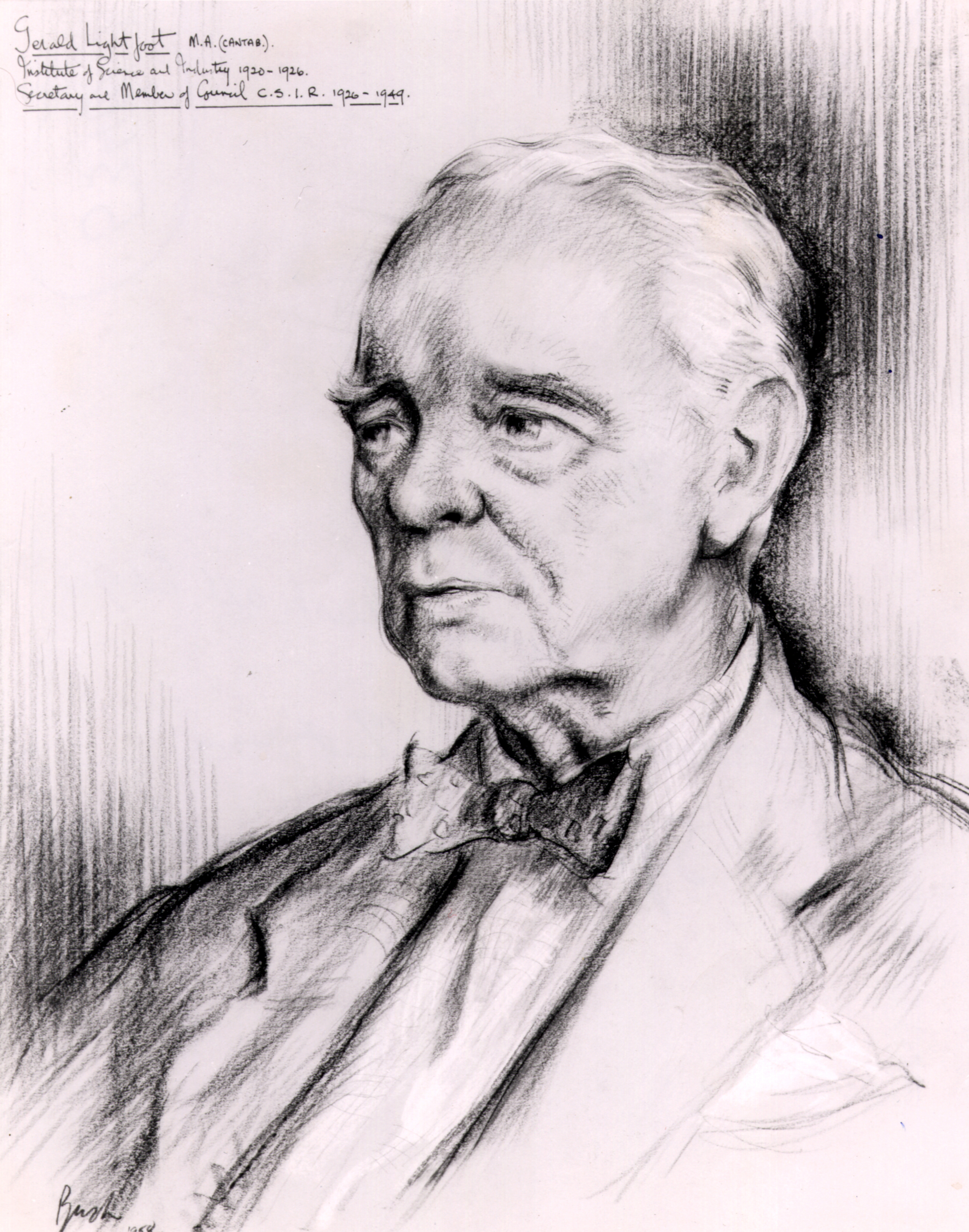 Portrait of Gerald Lightfoot