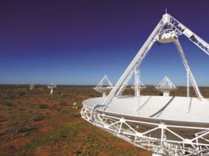ASKAP telescope dishes