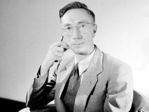 Black and white photo of Joseph Lade Pawsey