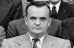 Black and white image of Lindsay McCready