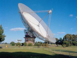 Parkes telescope dish