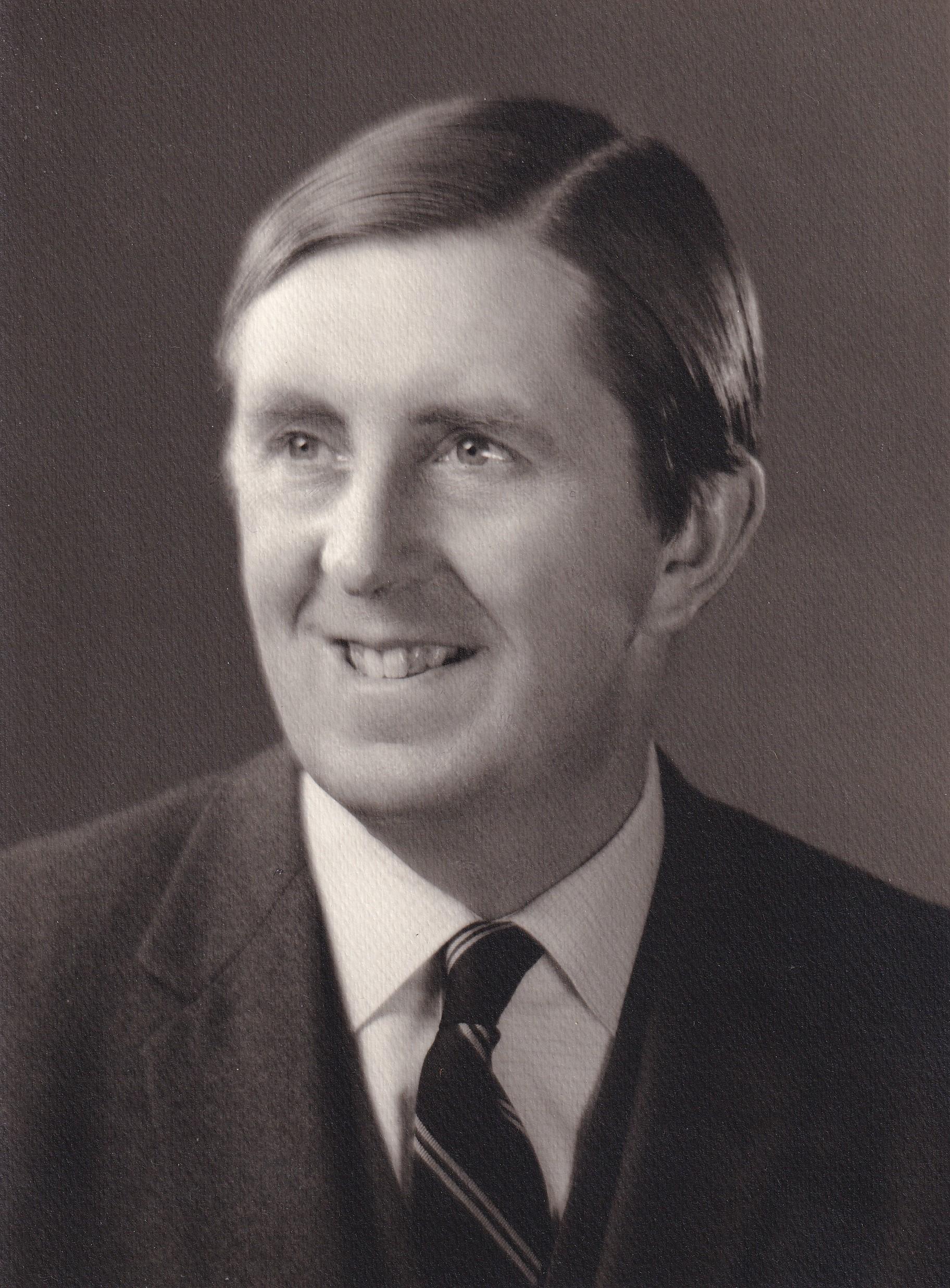 Portrait of William Ivo (Bill) Whitton
