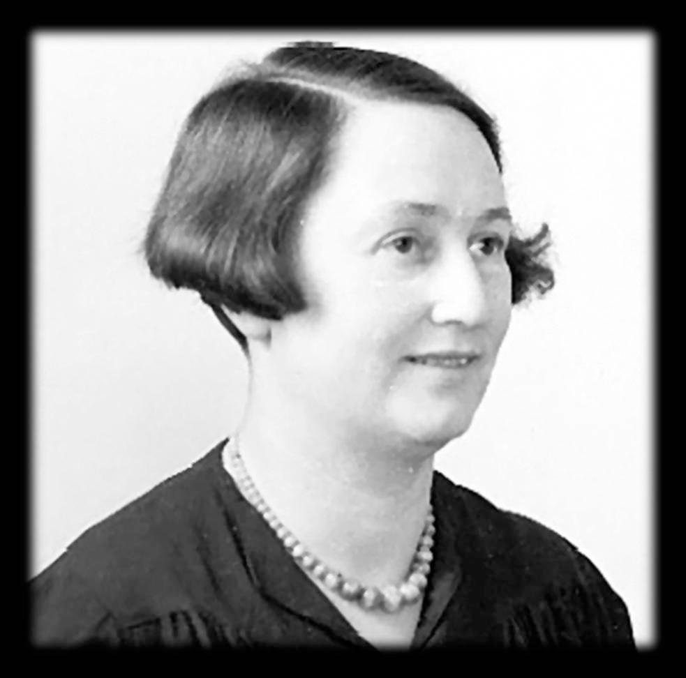 A portrait of Betty Allan